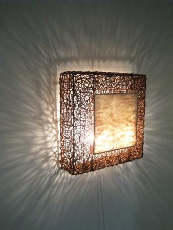 Wandlampe Artis 60 x 60 cm