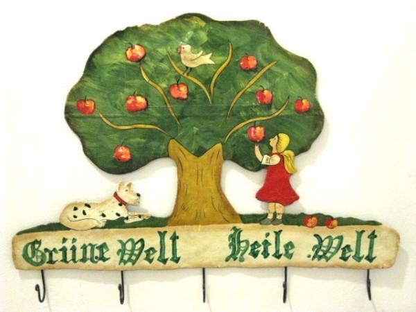 Kindergarderobe Eisen (Grüne Welt Heile Welt)